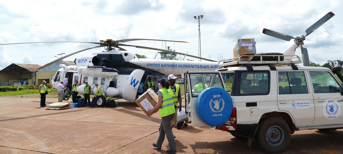 Relief efforts complicated as Ebola spreads to Oicha