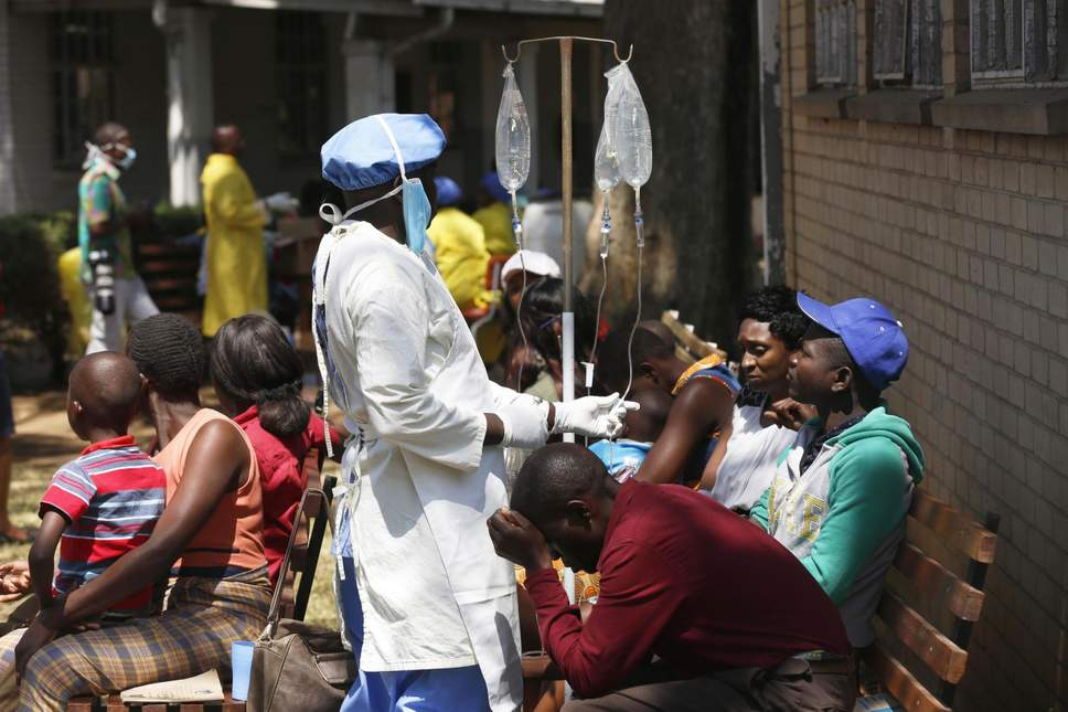 State of emergency declared in Zimbabwe after cholera outbreak kills 20