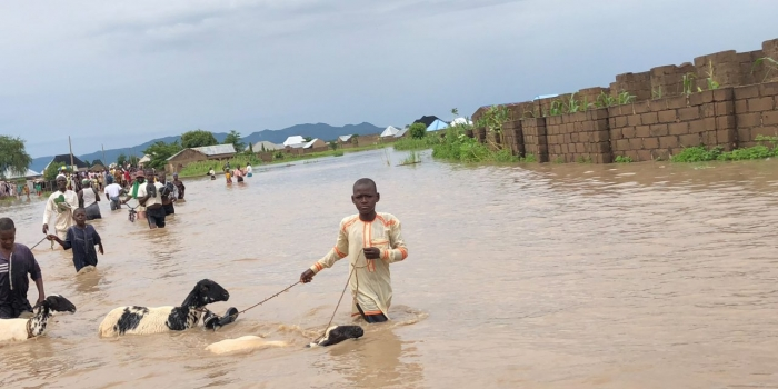 Thousands displaced in Nigeria due to floods