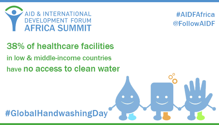 "Global Handwashing Day: ""Make Handwashing a Habit!"""