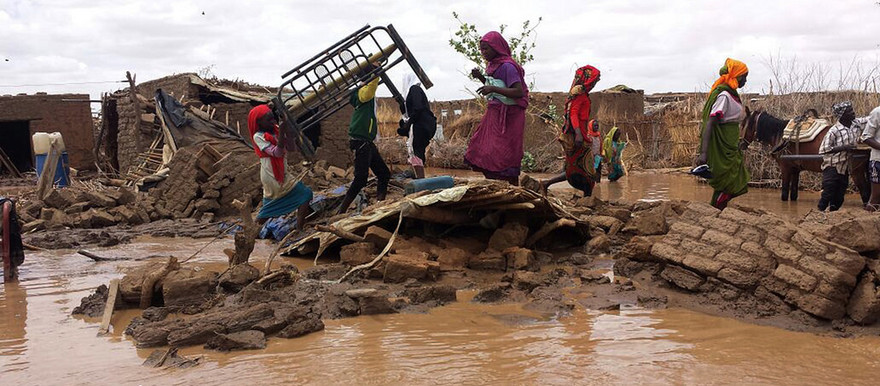 Flash floods displace 9,000 families in Sudan