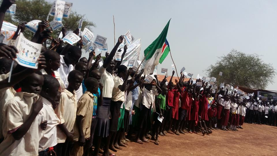 75% of children in South Sudan have known nothing but war - UNICEF