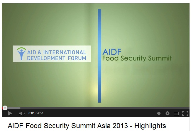 Food Security 2013: Asia Higligths Video