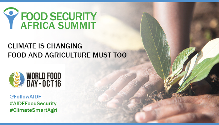 "World Food Day: ""Climate is changing. Food and agriculture must too"""