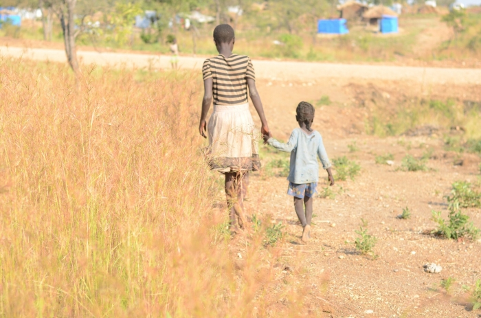 2.5 million girls in Eastern Africa have been forced to flee their homes