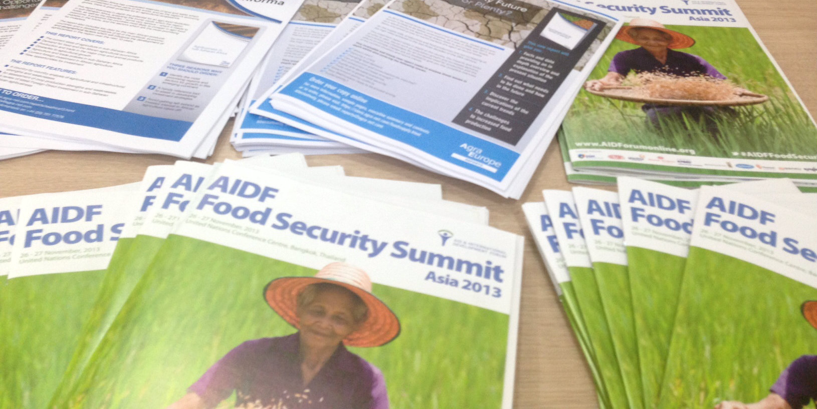 Food Security 2013: Asia report has been launched!