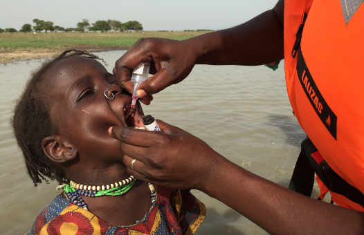 How close is Africa to eliminating polio?
